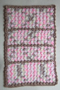 Crochet Small Shells Doll Afghan